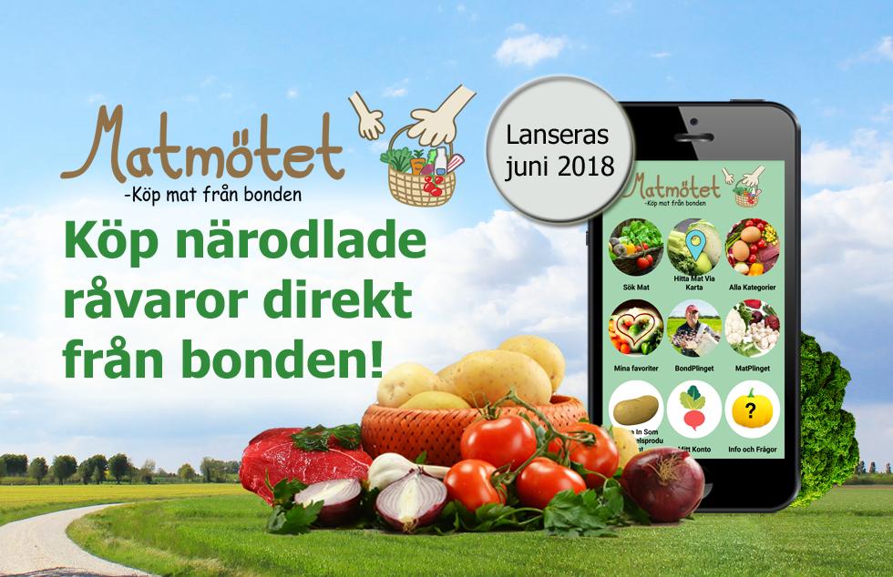 Matmötet – Lanseras i juni 2018