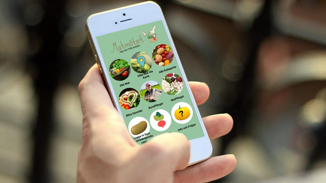 Vad är appen Matmötet?