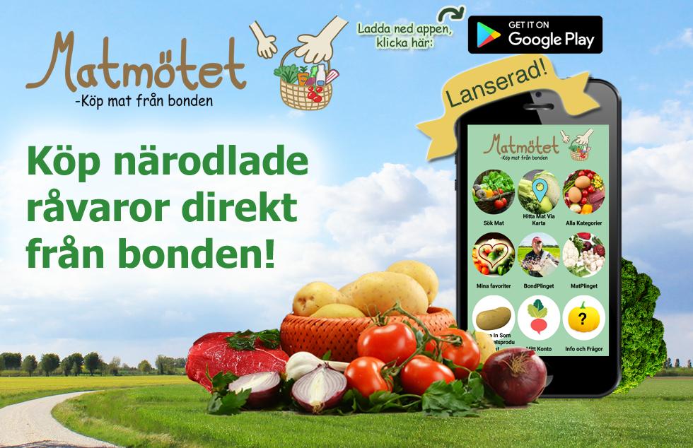 Appen Matmötet är nu lanserad!